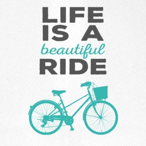 Bicycle: Life is a beautiful ride - Flexfit Baseball Cap