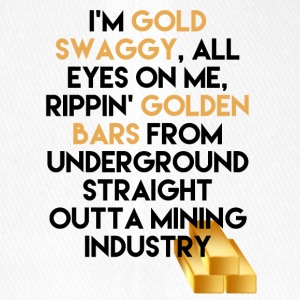 Mining Ik ben Gold swaggy, All Eyes On Me, Rippin' - Flexfit baseballcap