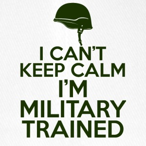 Military / Soldiers: I can't keep calm. I'm a militar - Flexfit Baseball Cap