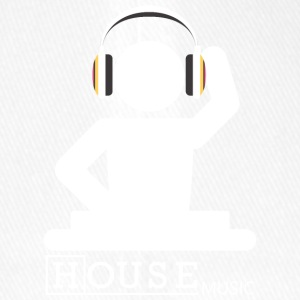 House Music - Flexfit Baseballkappe