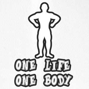 One Life One Body - Flexfit baseballcap