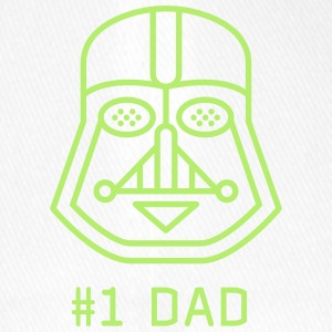 Dad father best fun maske Darth vader star was a fan - Flexfit Baseball Cap