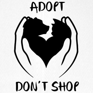 Adopt don't shop - Flexfit Baseball Cap