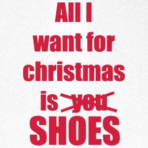 Christmas song saying shoes - Flexfit Baseball Cap