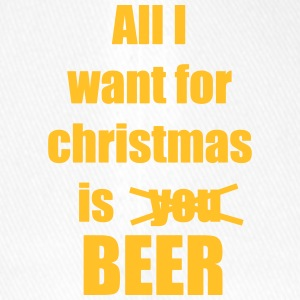 Christmas song saying Beer Beer - Flexfit Baseball Cap