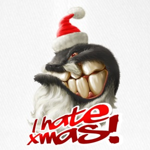I hate Xmas - Flexfit Baseball Cap