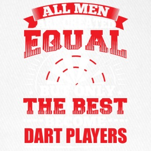DARTS - ALL MEN ARE CREATED EQUAL - DART PLAYERS - Flexfit Baseball Cap