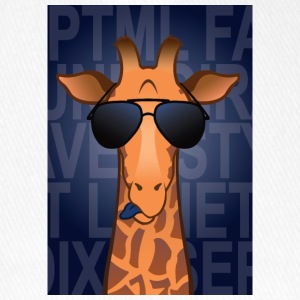 Giraffe glasses - Flexfit Baseball Cap