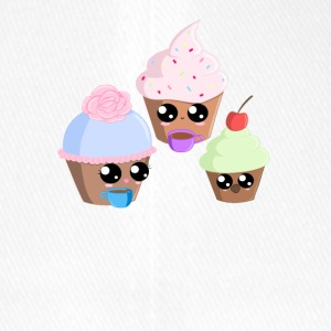 Cupcake Teaparty - Flexfit Baseball Cap