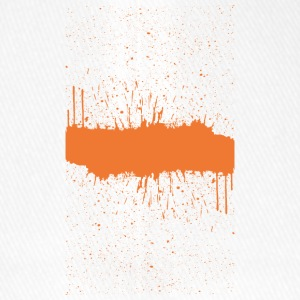 Orange brush Skizze - Flexfit Baseballkappe