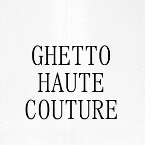 GHETTO HAUTE COUTURE - Cappello con visiera Flexfit