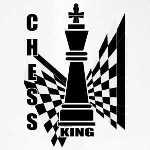 Chess king - Flexfit baseballcap