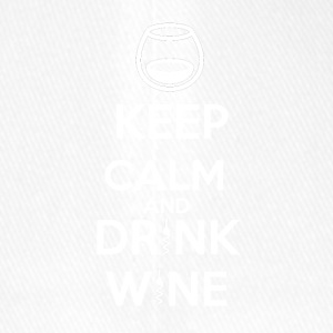 Keep Calm and DRINK WINE - Flexfit Baseball Cap