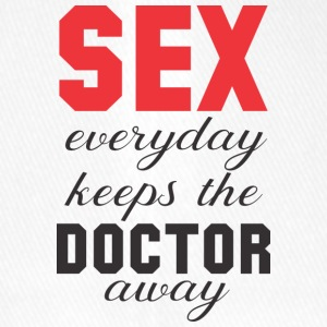 Sex keeps the Doctor away! 2. Edition - Flexfit Baseballkappe