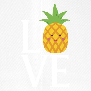 LOVE - Pineapple - Flexfit Baseball Cap