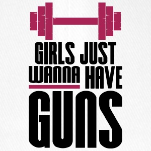 Girl Just Wanna Guns Gym Fitness - Flexfit Baseballkappe