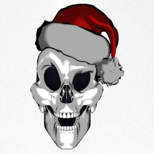 Smart Santa Skull - Flexfit Baseball Cap