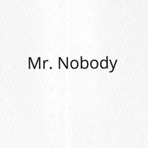 Mr.Nobody - Flexfit Baseballkappe