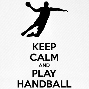keep calm and play handball - Casquette Flexfit
