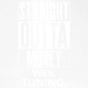 straight outta money weil tuning - Flexfit Baseballkappe