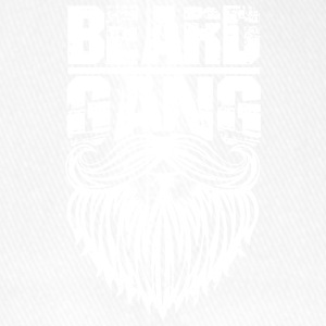 beard gang white - Flexfit Baseballkappe