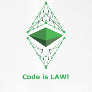 Ethereum Classic - Code is LAW! - Flexfit Baseballkappe