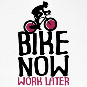 Bike Now Worklater - Bicycle - Flexfit Baseball Cap