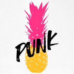 Punk ananas / Punk Pineapple / Punk Apple - Flexfit baseballcap
