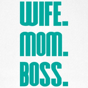 Wife Mom Boss mothers day - mother - Flexfit Baseball Cap
