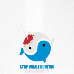Stop Whale Hunting For Humanity - Flexfit Baseball Cap