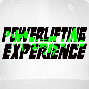 powerlifting EXPERIENCE GREEN - Flexfit Baseball Cap