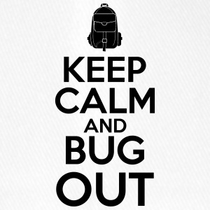 Keep Calm and Bug Out - Flexfit Baseballkappe