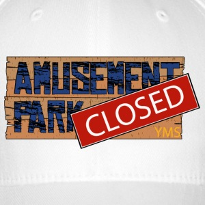 Amusement Park Sign Rough YMS - Flexfit baseballcap