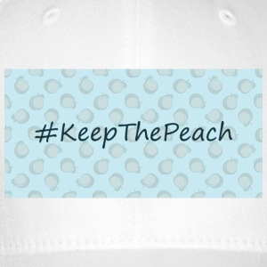 Hashtag Keep The Peach - Flexfit baseballcap