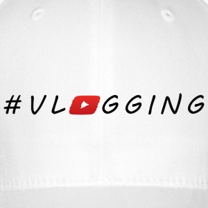 YouTube #Vlogging - Cappello con visiera Flexfit