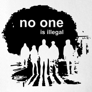 no one is illegal - Flexfit Baseball Cap