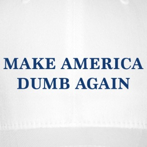 Make Amerika Dumb Again - Flexfit baseballcap