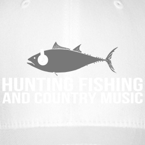 Hunting Fishing and Country Music - Flexfit Baseball Cap