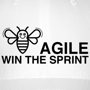 BE AGILE WIN THE SPRINT - Flexfit Baseball Cap