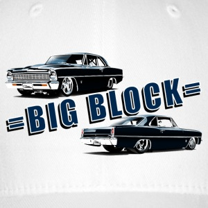 Big block Chevy II nova Super Sport - Casquette Flexfit