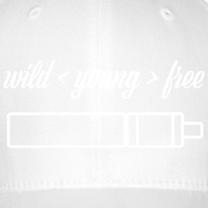 wild young free with TubeMod - Flexfit Baseball Cap