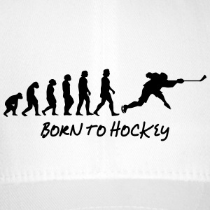 born to hockey - Flexfit Baseballkappe