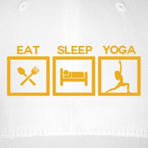 ! Eat Sleep Yoga - cyklus! - Flexfit baseballcap