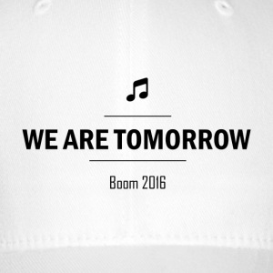 We Are Tomorrow Black - Casquette Flexfit