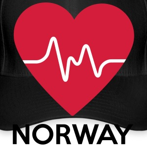 heart Norway - Flexfit Baseball Cap