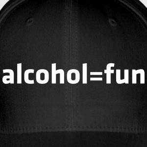 Alcohol Means Fun - Flexfit Baseball Cap