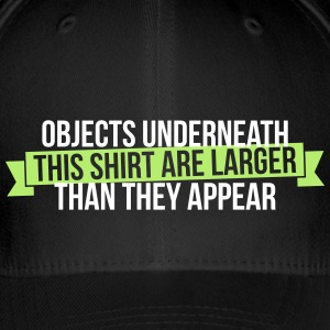 Objects underneath are larger - Flexfit Baseballkappe