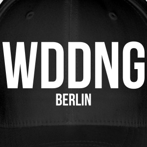 WEDDING BERLIN - Flexfit baseballcap