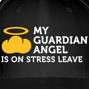 My Guardian Angel Is On Vacation - Flexfit Baseball Cap