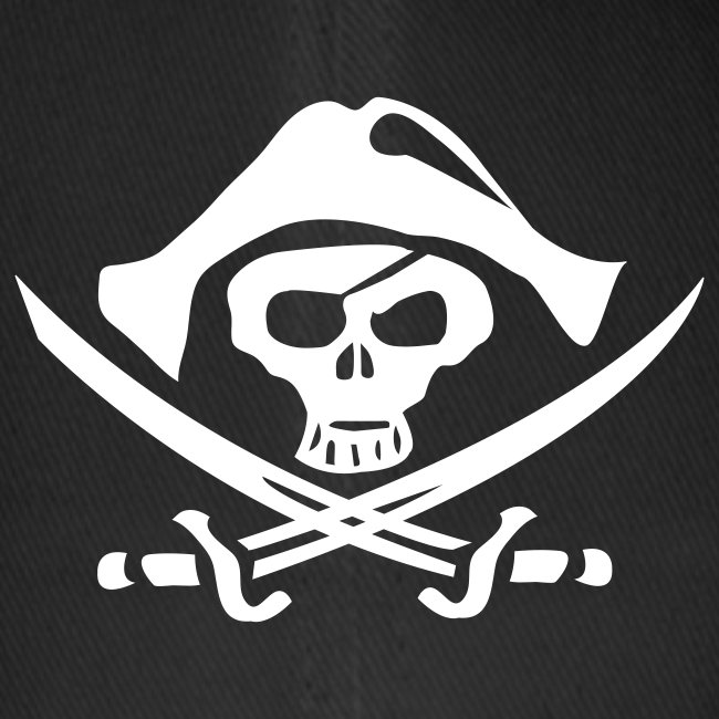 Pirat Totenkopf Freibeuter Caps & Mützen
